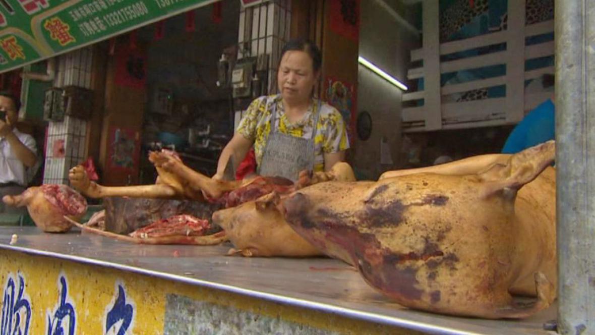 Festival psího masa v čínském Jü-linu