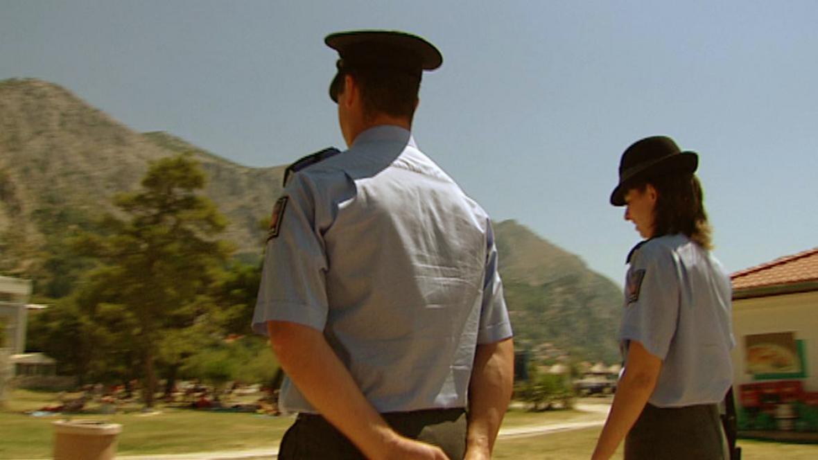 Čeští policisté v Chorvatsku