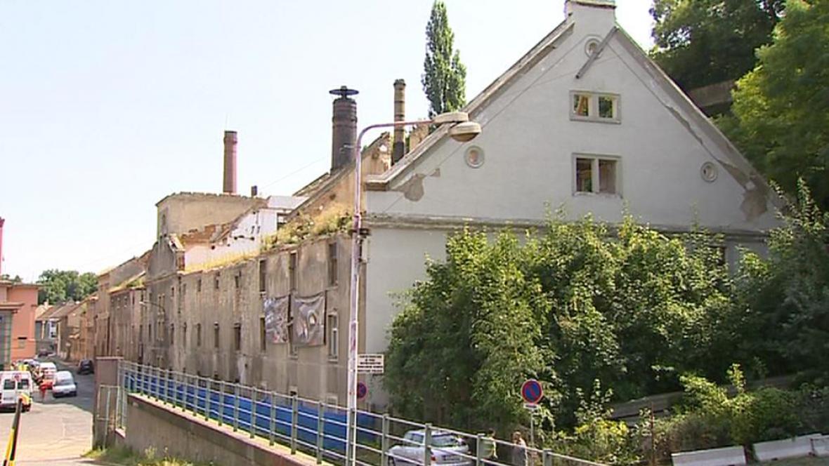 Budova bývalého roudnického pivovaru