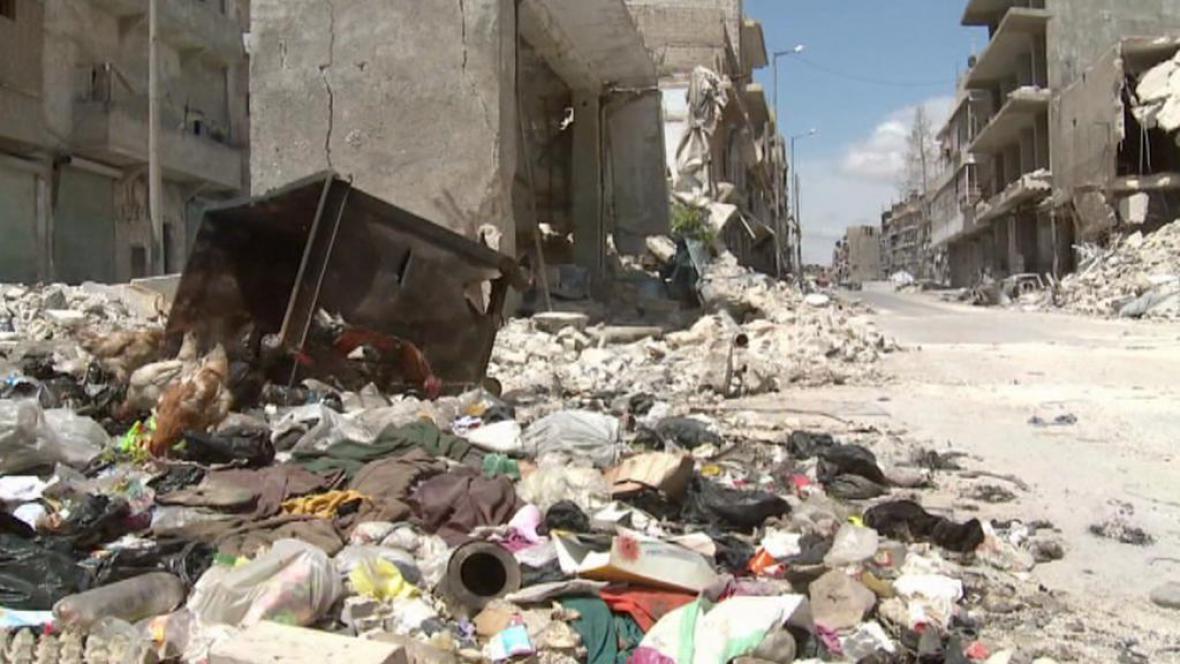 Z Aleppa se stalo město duchů