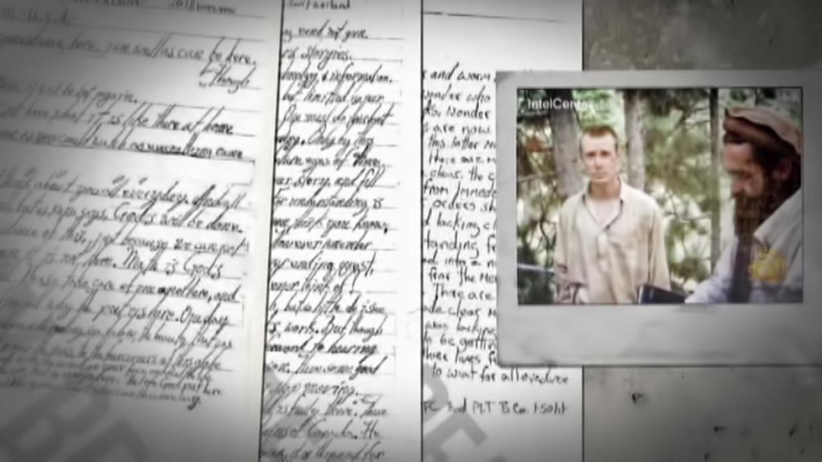 Bergdahlovy dopisy rodině