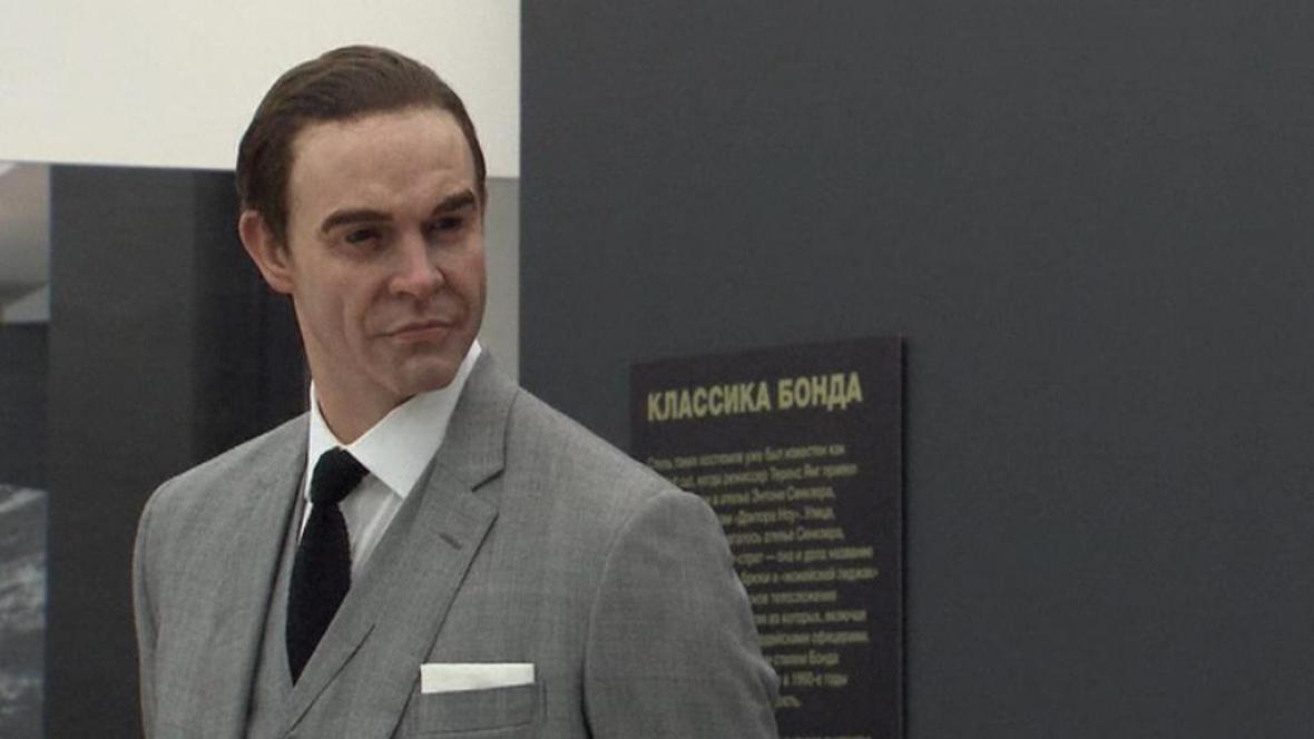Figurína Seana Conneryho alias Jamese Bonda