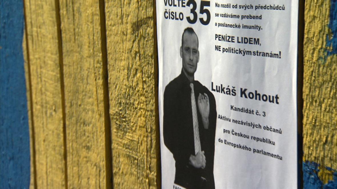 Lukáš Kohout kandidoval do Evropského parlamentu
