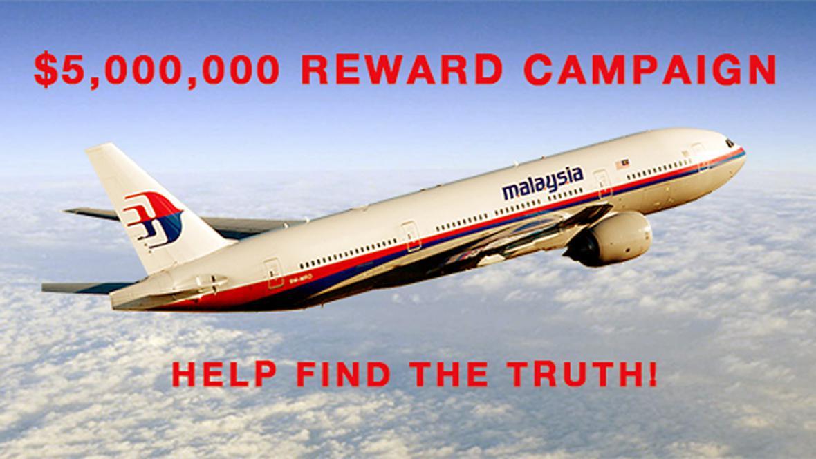 Kampaň za získání informací o pohřešovaném letadle