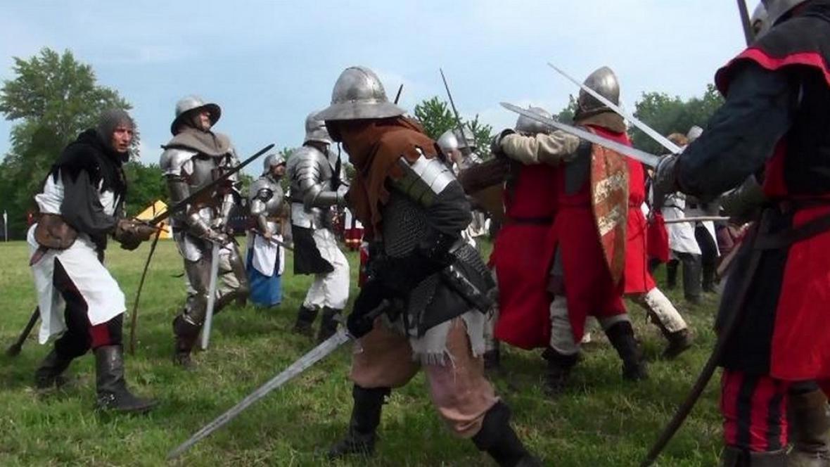 Rekonstrukce bitvy u Lipan