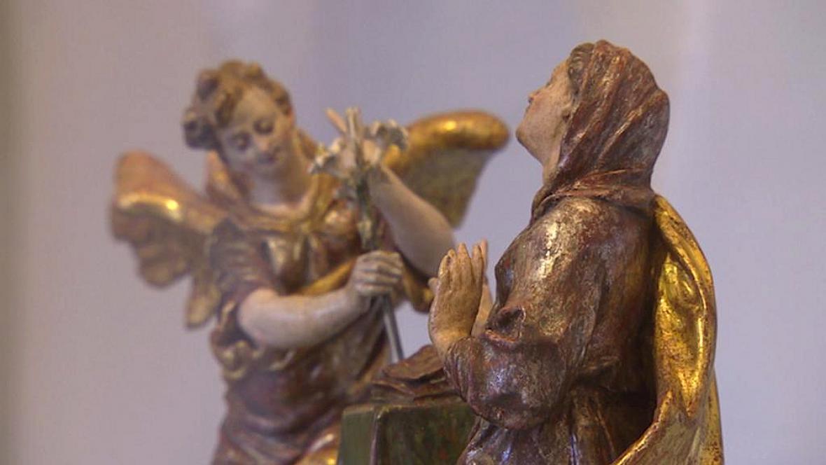 Z výstavy k 350. výročí Biskupství královéhradeckého