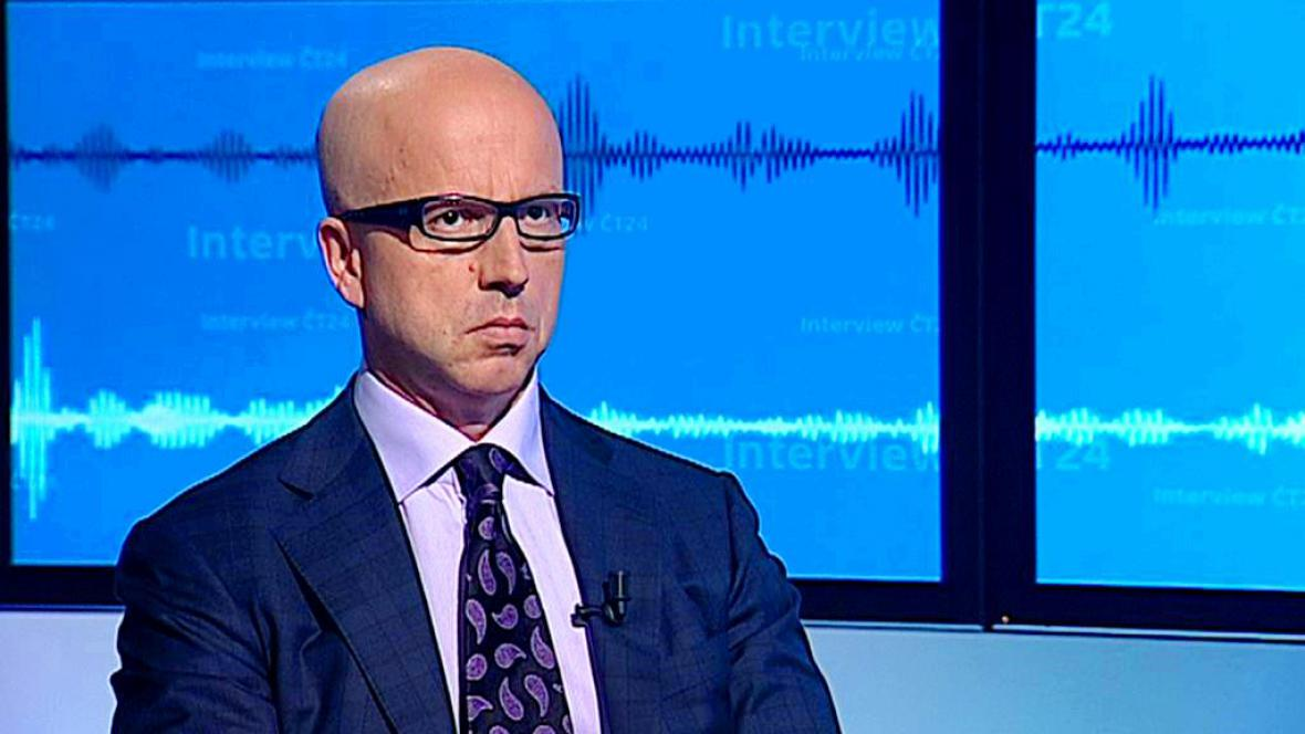 Pavel Telička v Interview ČT24