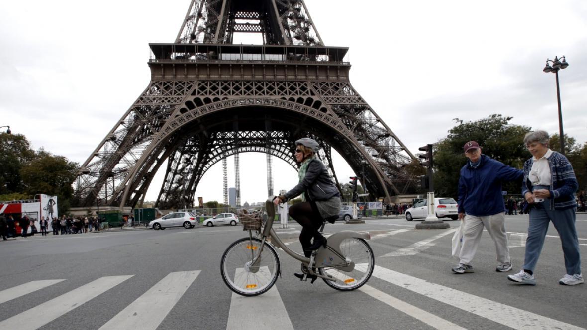 Bikesharing v Paříži