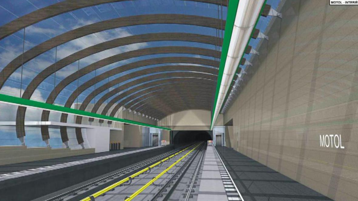 Stanice metra Motol