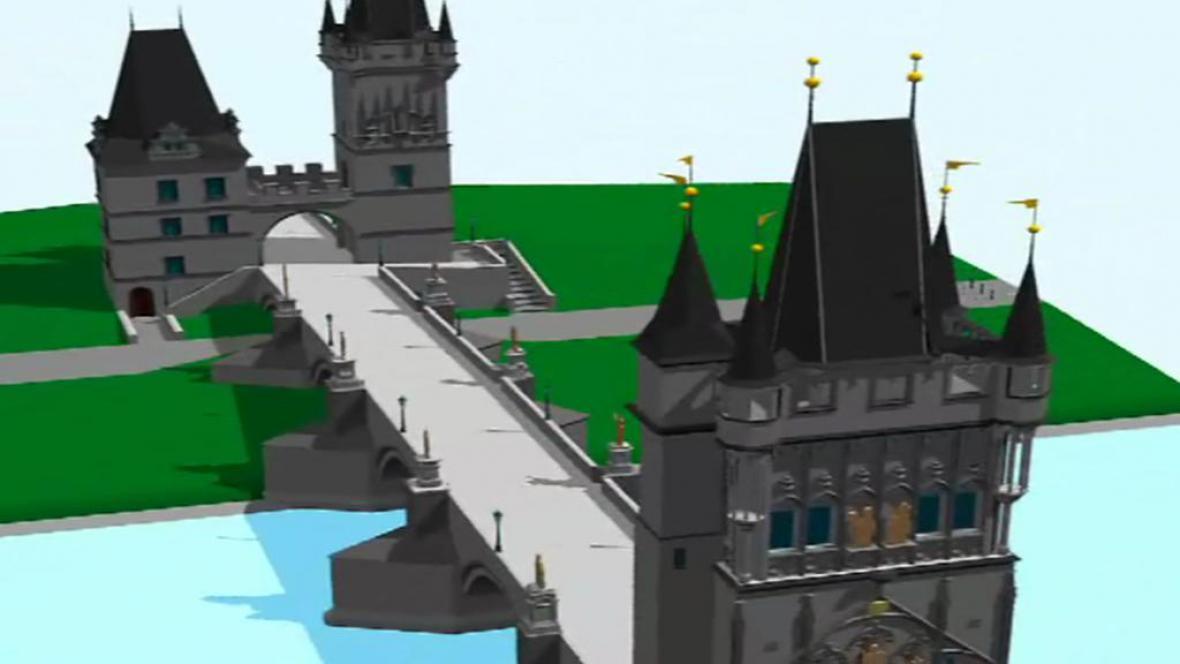 Návrh repliky Karlova Mostu