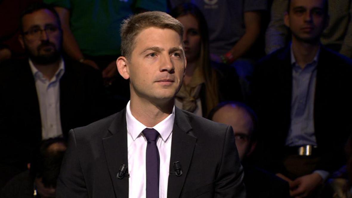 Petr Mach, lídr kandidátky Svobodných
