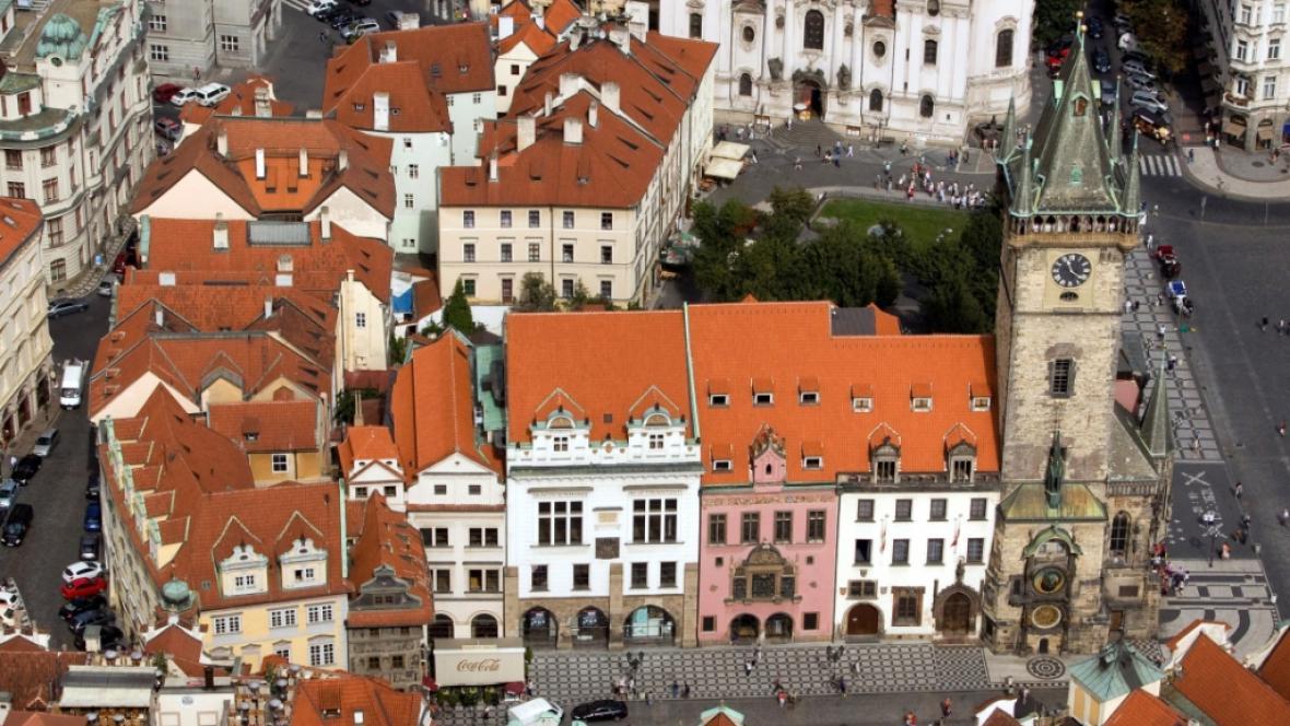 Blok radničních budov u Staroměstského náměstí