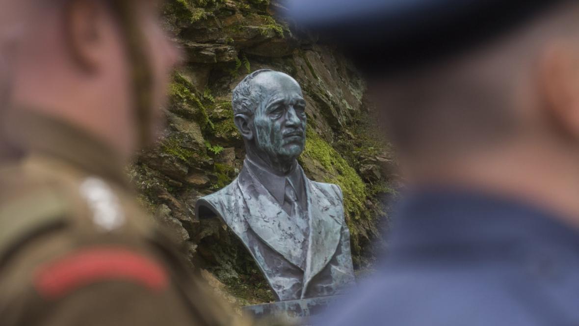 Busta Edvarda Beneše v Sezimově Ústí