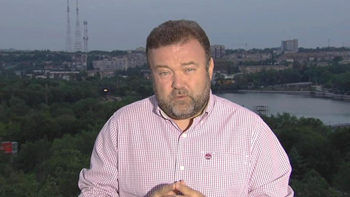 Miroslav Karas sleduje bouřlivou situaci přímo v Doněcku