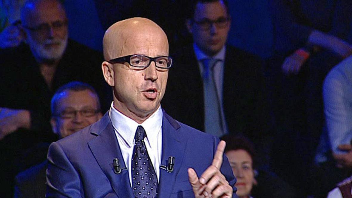 Pavel Telička, lídr kandidátky hnutí ANO