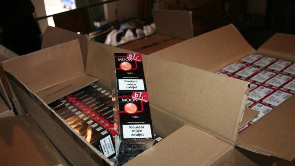Policie zadržela neprodané cigarety