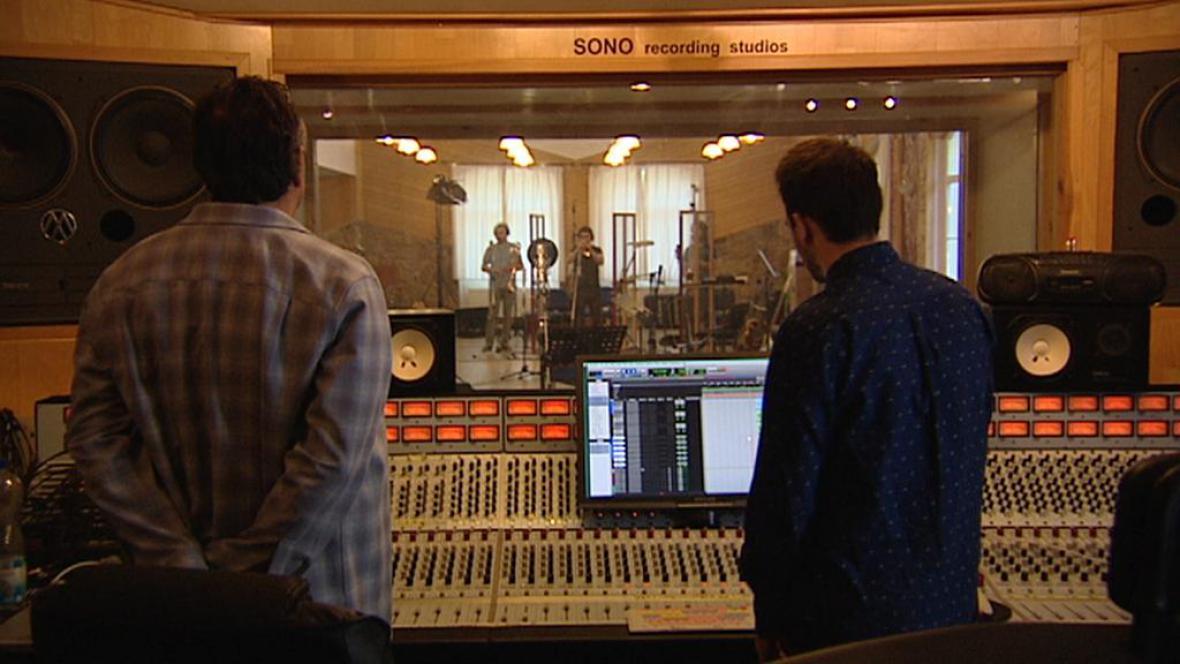 Nahrávací studio v Nouzově u Prahy