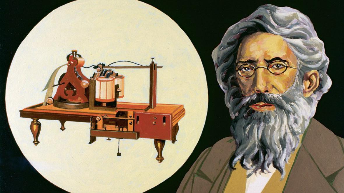 Morse a jeho telegraf