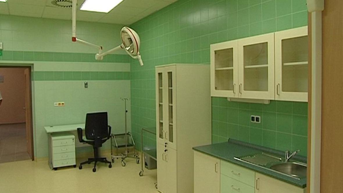 Nové oddělení interny v novoměstské nemocnici
