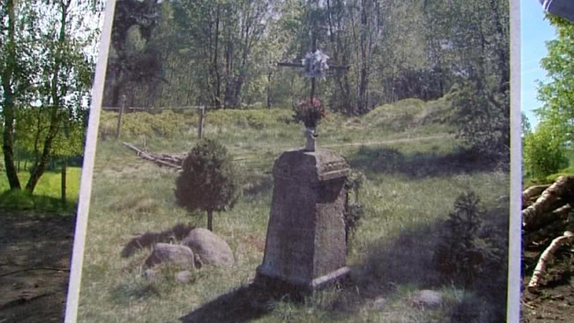 Původní podoba křížku