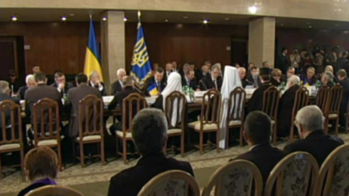 Ukrajinské jednání u kulatého stolu