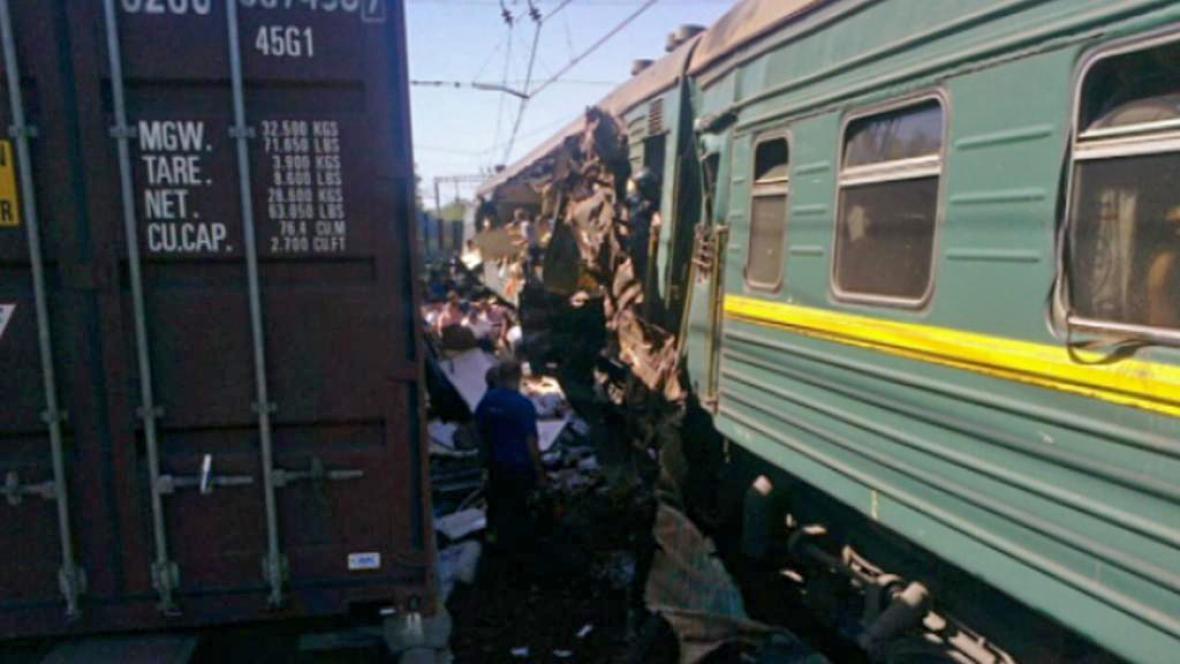 Srážka vlaků u Bekasova