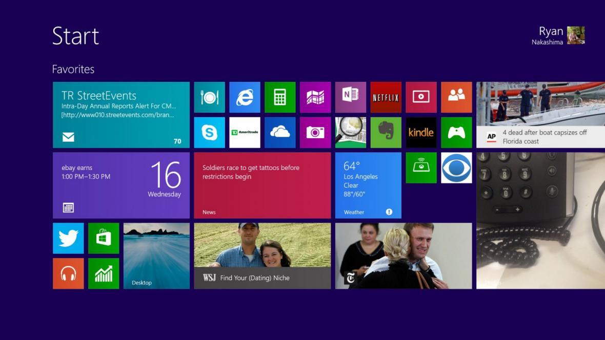 Operační systém Windows 8