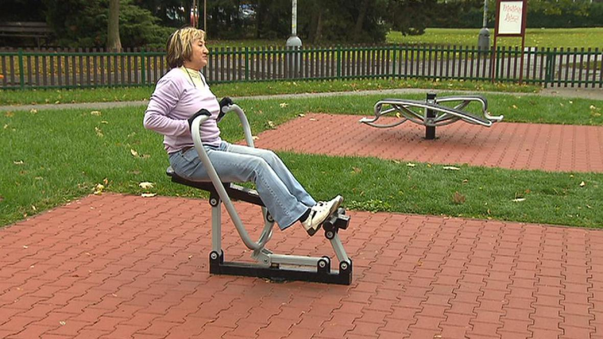 Fitness park pro seniory
