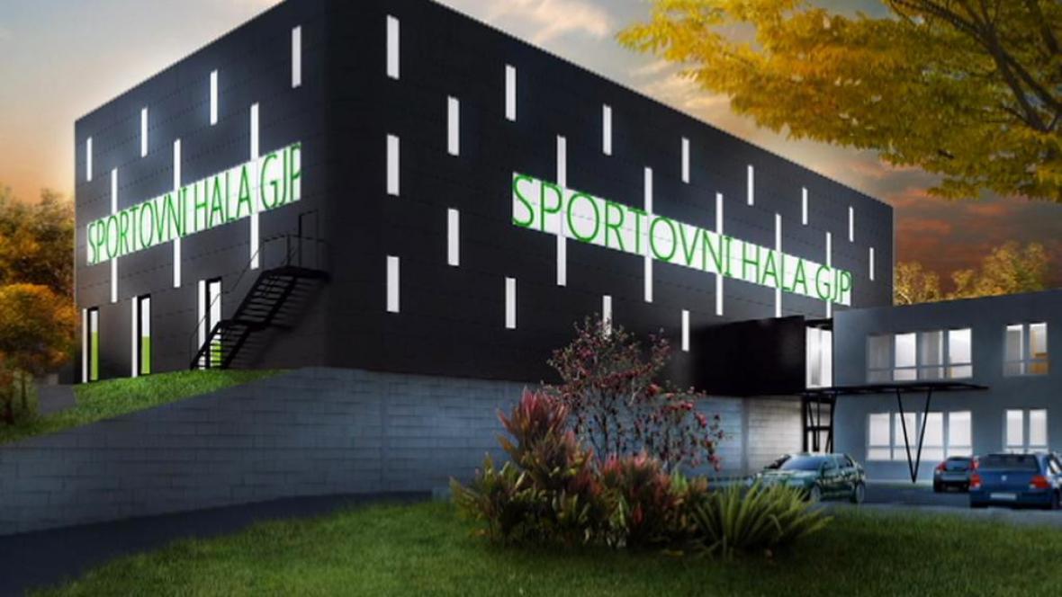 Projekt nové sportovní haly v Mělníku