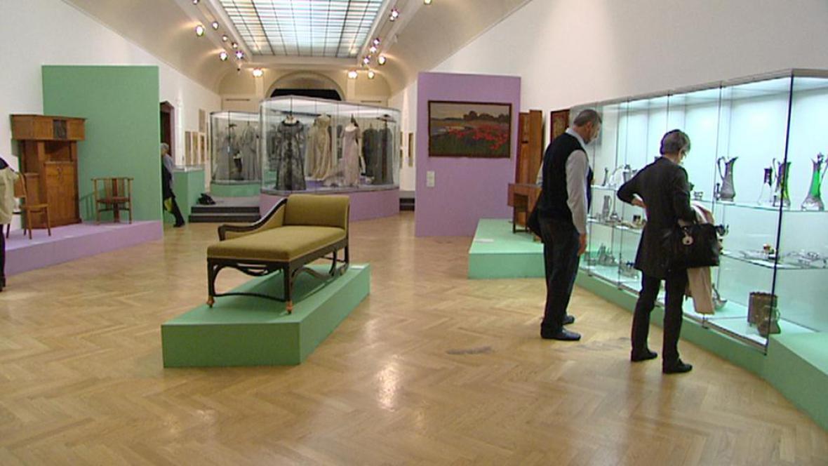 Z výstavy Secese: Vitální umění 1900 v Obecním domě