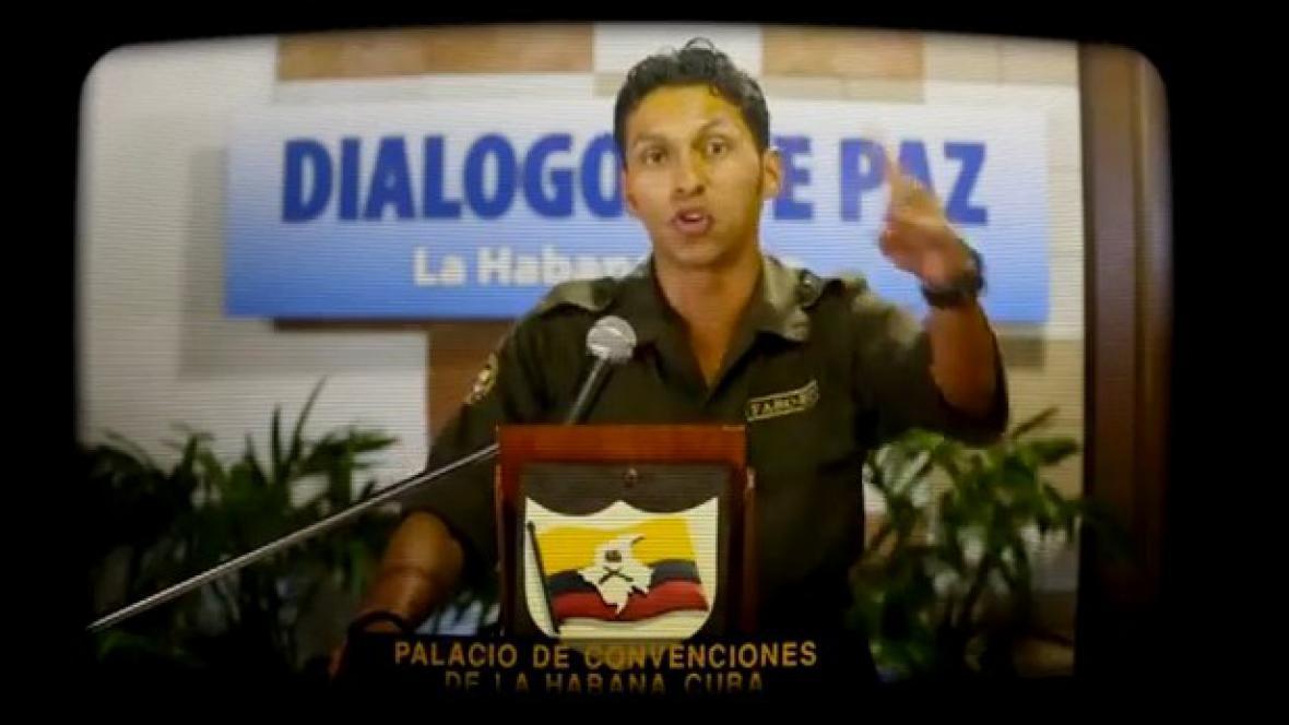 Kolumbijští povstalci rapují ve jménu míru