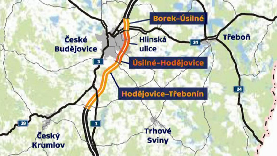 Dálniční obchvat Českých Budějovic