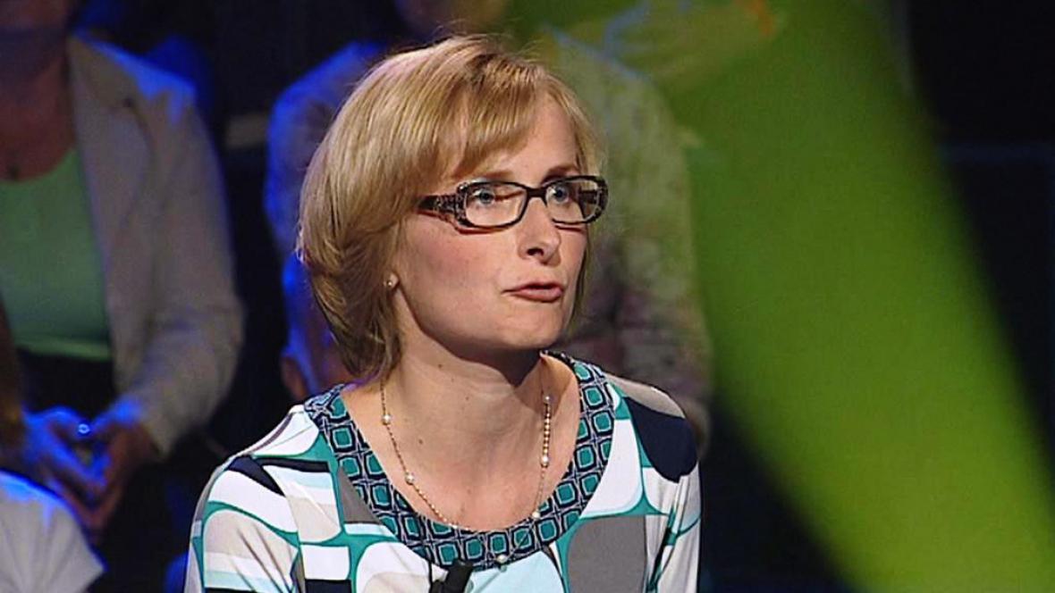 Lídryně evropské kandidátky KSČM Kateřina Konečná