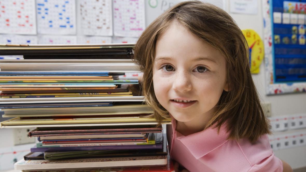 Dítě ve škole
