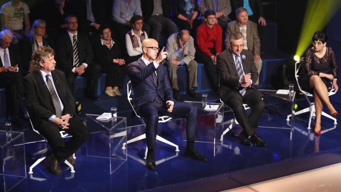 Diskuse před volbami do Evropského parlamentu