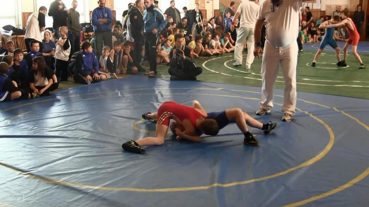 V Borohrádku se střetli mladí zápasníci