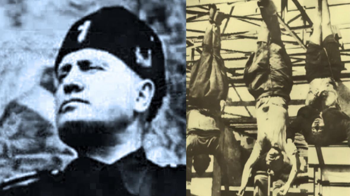 Benito Mussolini a jeho smrt