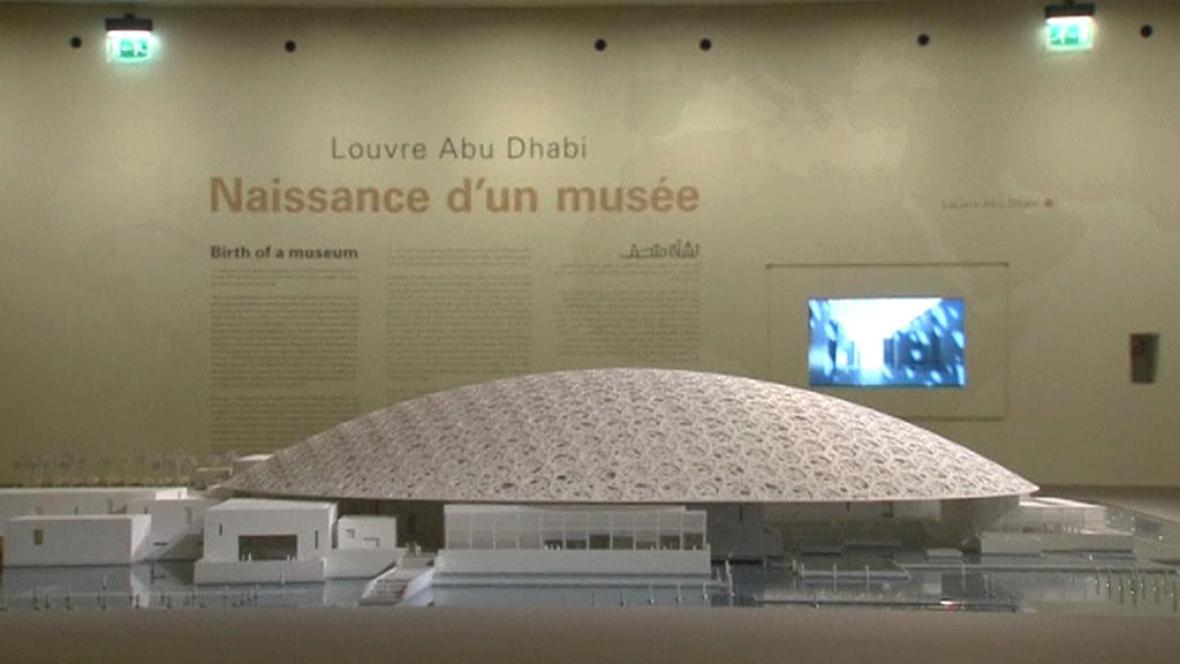 Projekt pobočky Louvre v Abú Dhabí