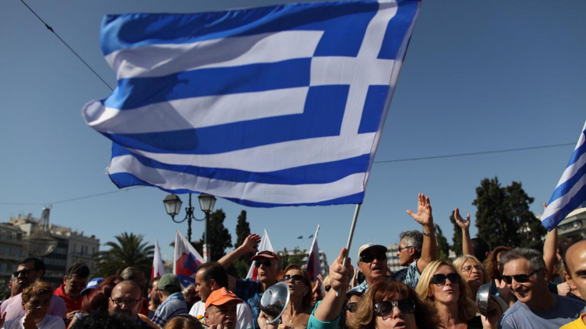 Generální stávka v Řecku