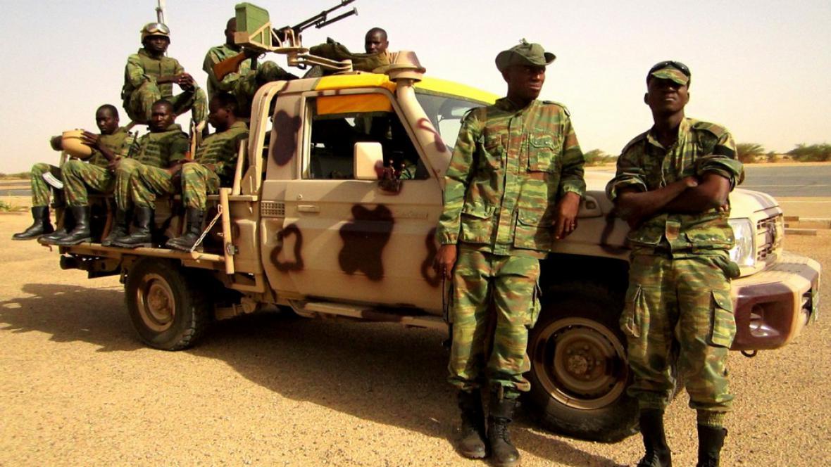 Armáda v Mali