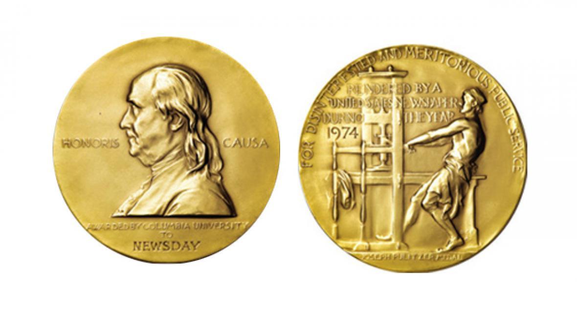 Pulitzerova cena / zlatá medaile