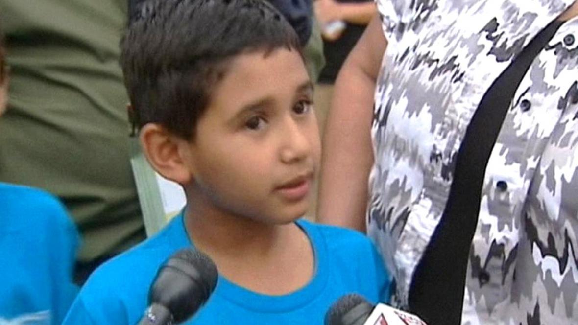 Texaské děti se moc daleko unést nenechaly