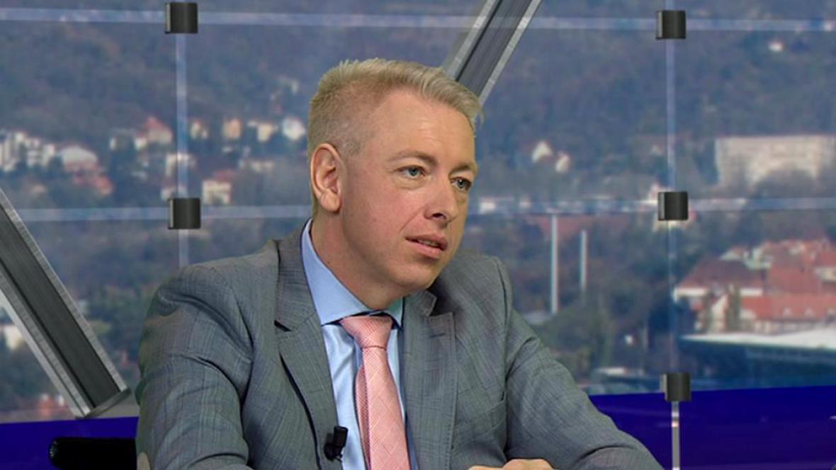 Ministr vnitra Milan Chovanec v Otázkách Václava Moravce