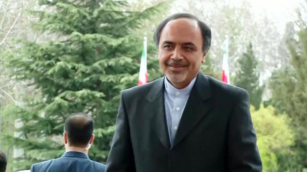 Íránský diplomat Hamíd Abútálebí