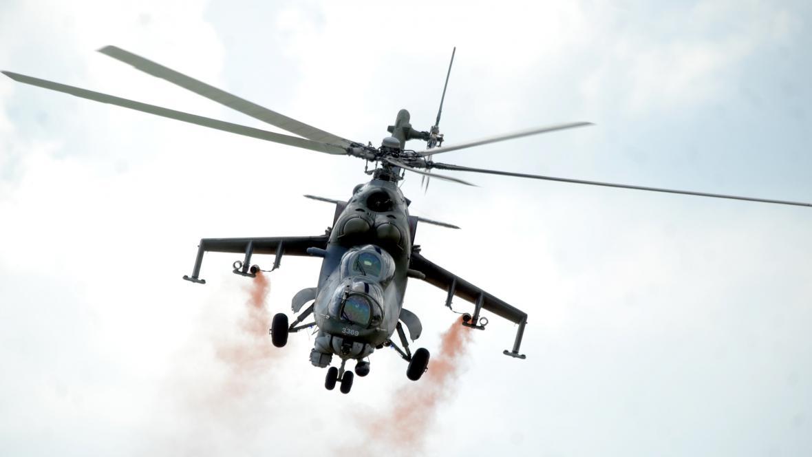 Vrtulník Mil Mi-35
