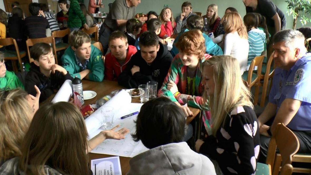 Jednání dětského fóra v Jilemnici