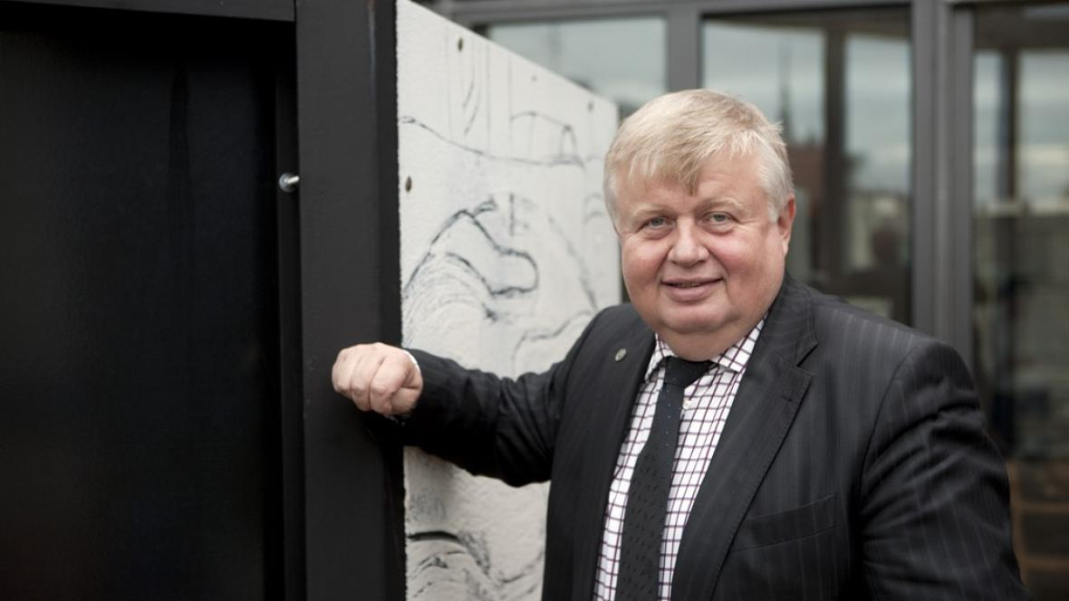 Generální ředitel Vítkovice Holding Jan Světlík