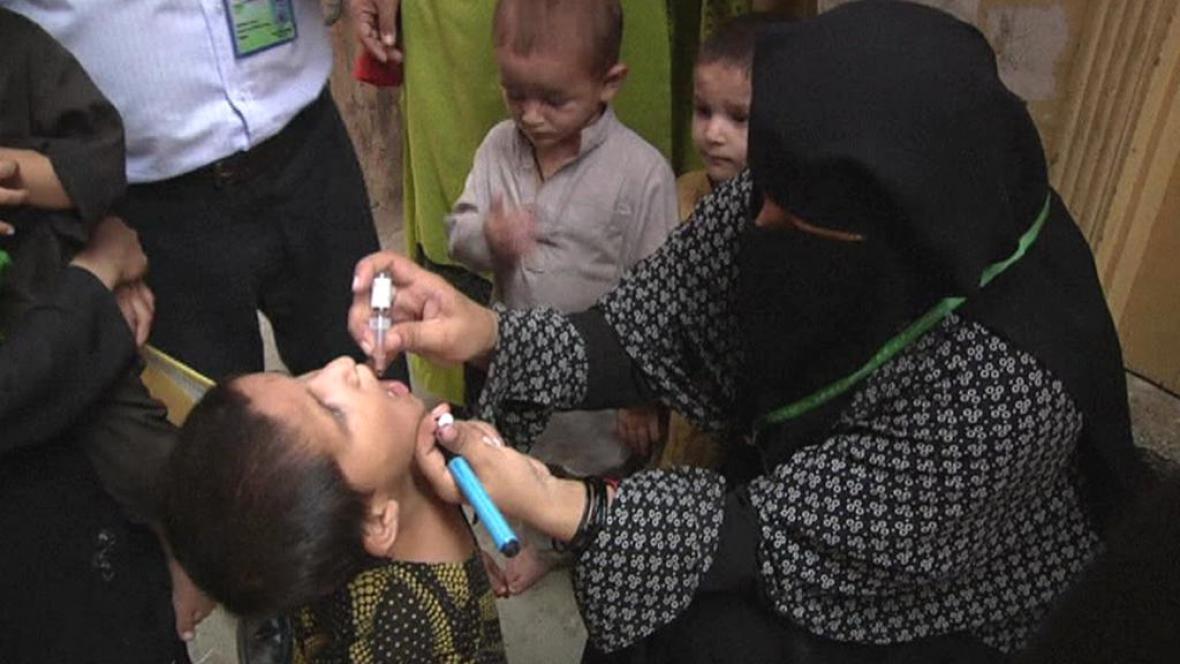 Očkování proti obrně