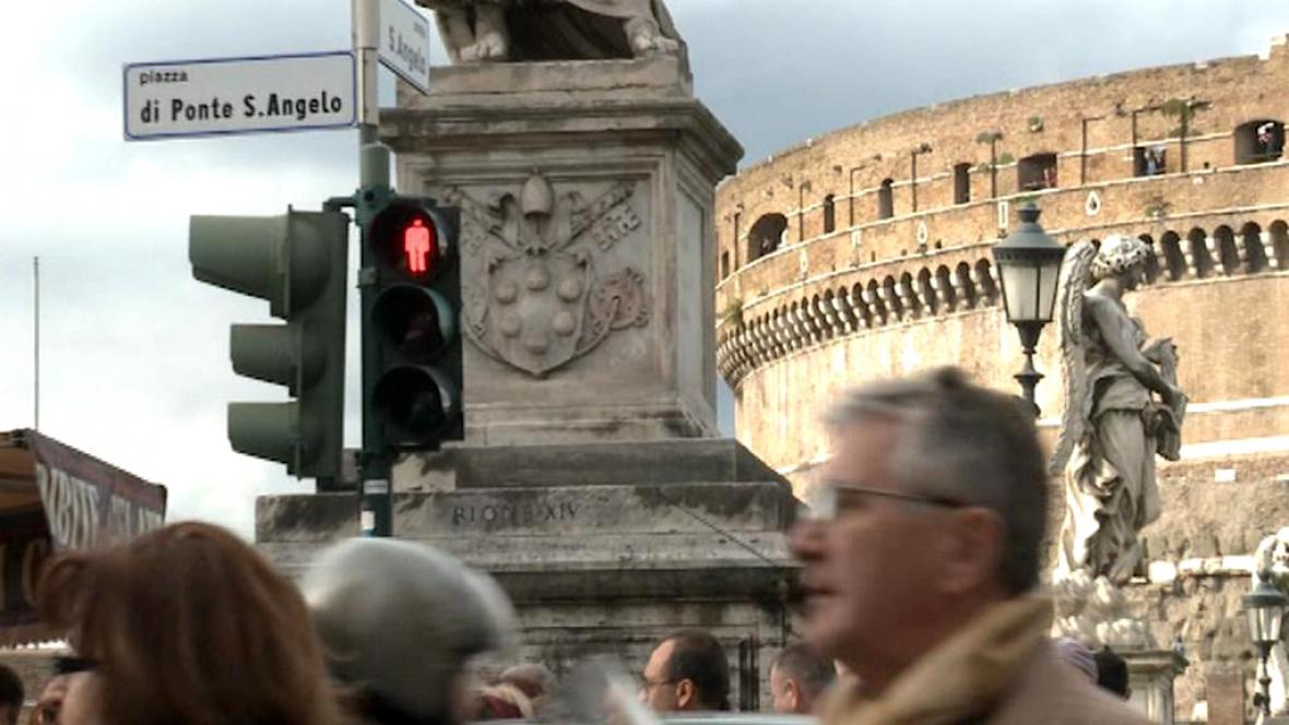 Řím se potýká i se špatným systémem přechodů
