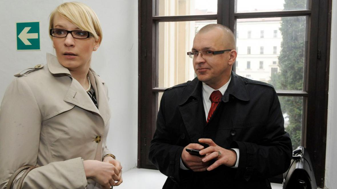 Kristýna Kočí a Jaroslav Škárka